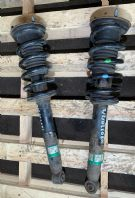 05-12 LEXUS IS220 SHOCK ABSORBERS COIL & SPRINGS PAIR 2007 IS220D XE20 DAMPERS